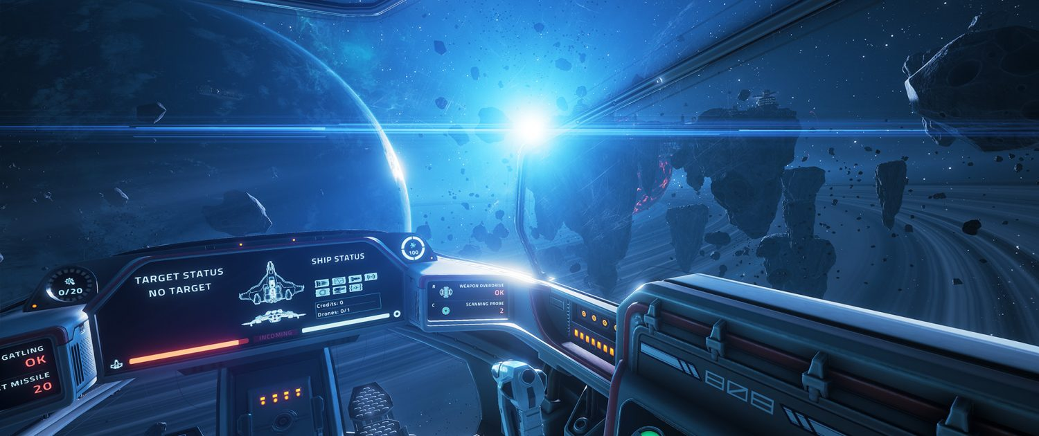 everspace is a single player rogue like space shooter